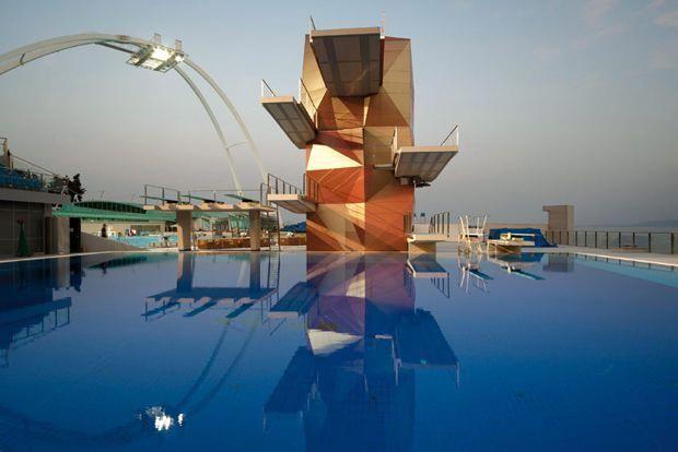 Diving Tower Rijeka Olympic Centre Croatia Studio Zoppini Divingboarddiy Rijeka Diving Board Croatia