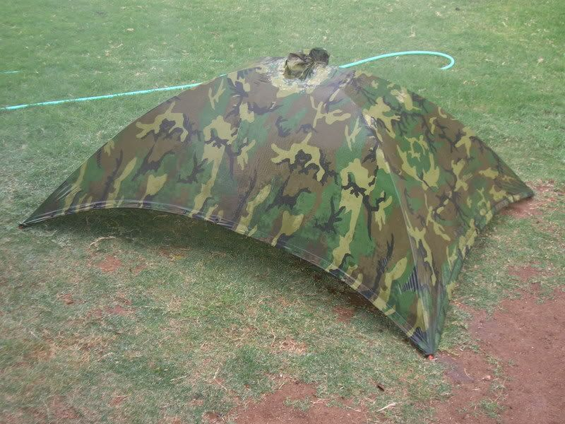 Tell me about poncho tents - Page 1 & ALPHA TENT - Using a modified USGI poncho as a tent. Consider for ...