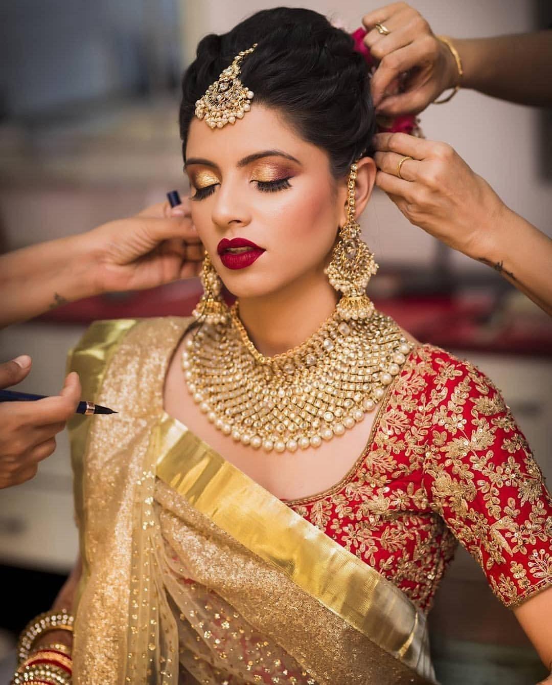 Full work zardozi work designer blouse for wedding