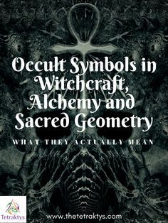 Occult Symbols in Witchcraft, Alchemy and Sacred Geometry - What
