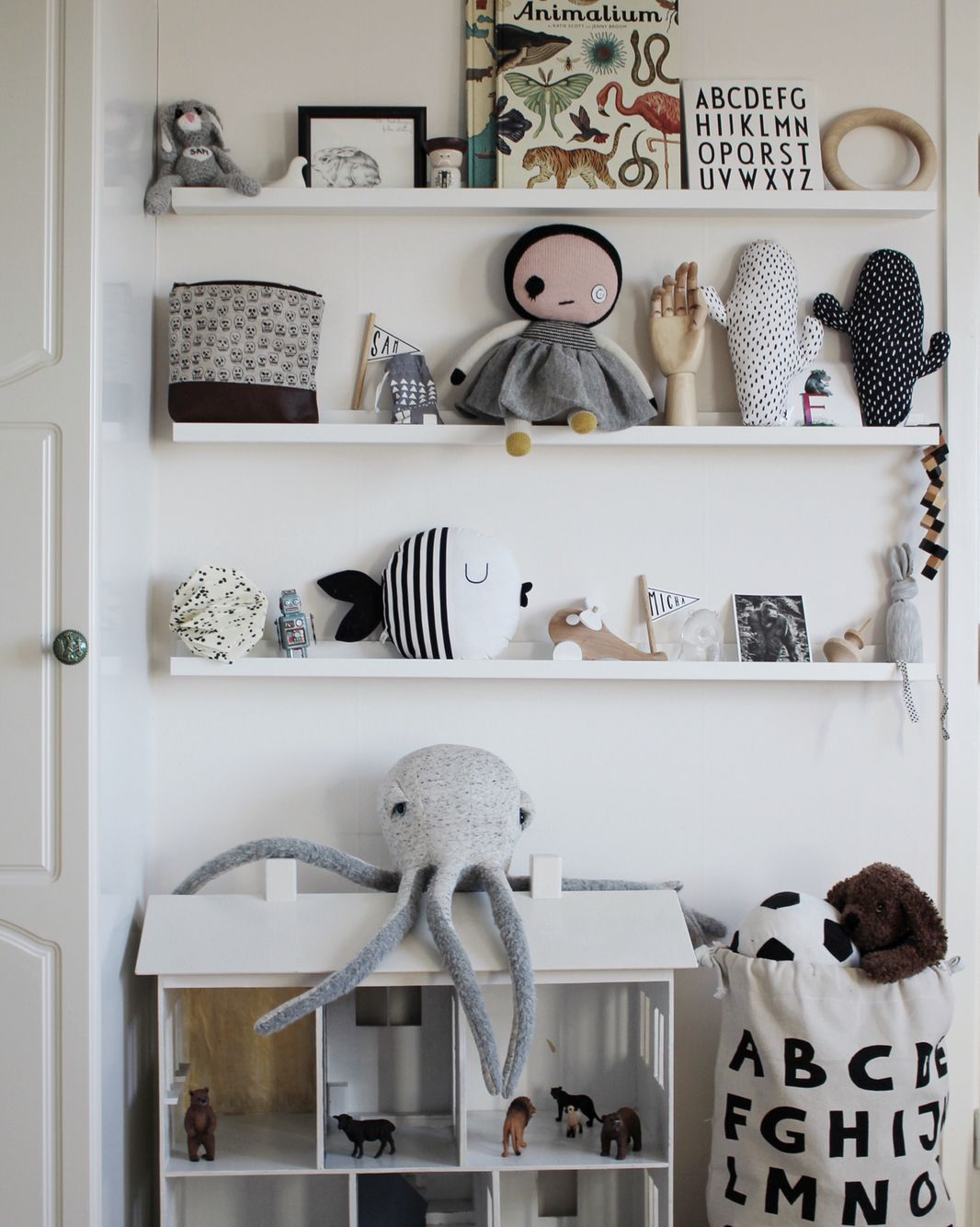 Kids rooms shelving and storage display for toys room style also pinterest