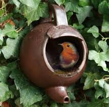 Image result for teapot birdhouse