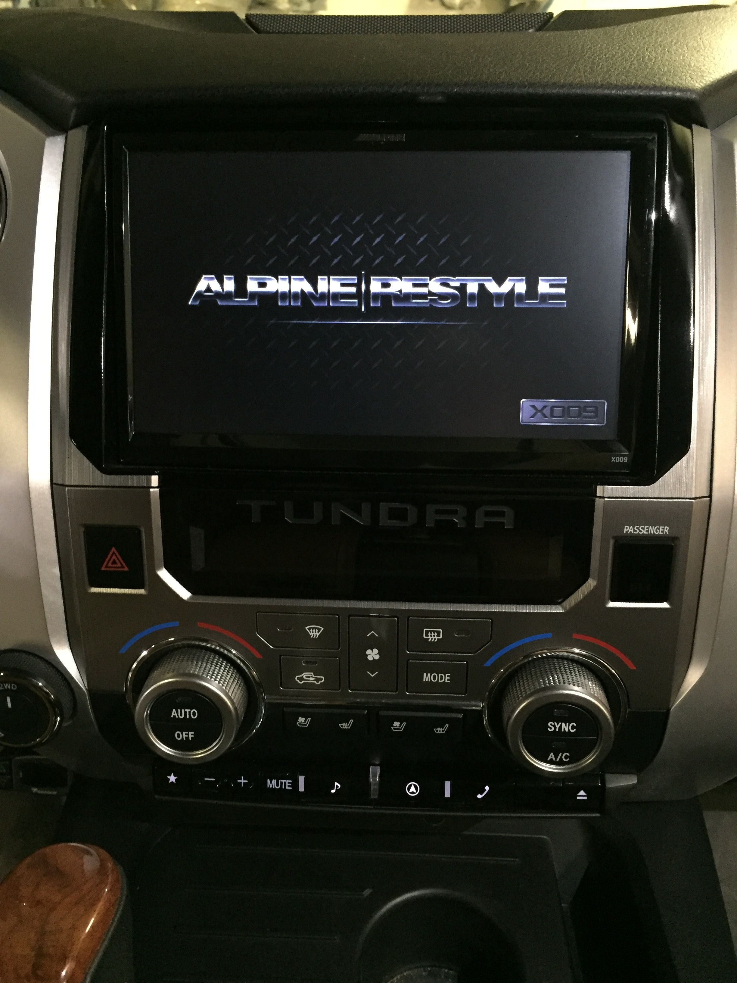Alpine X 009 2014 Toyota Tundra 1794 Toyota Tundra 1794 Toyota Tundra Accessories Toyota Tundra