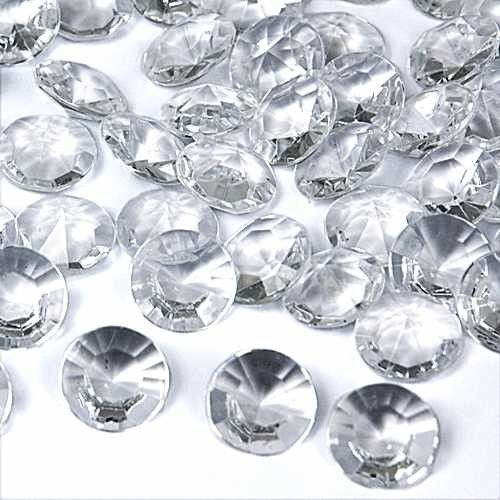 Diamantes Clear Table Sprinklers (approx 70 pieces)