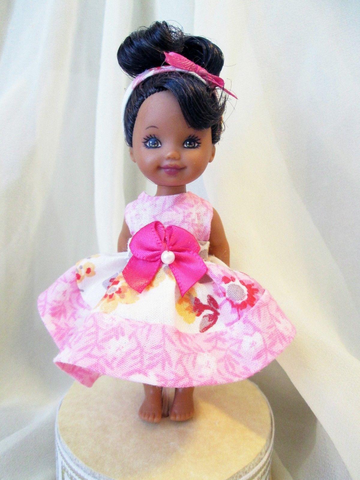 Kelly Barbie\'s Sister Handmade Dress Clothes 4\