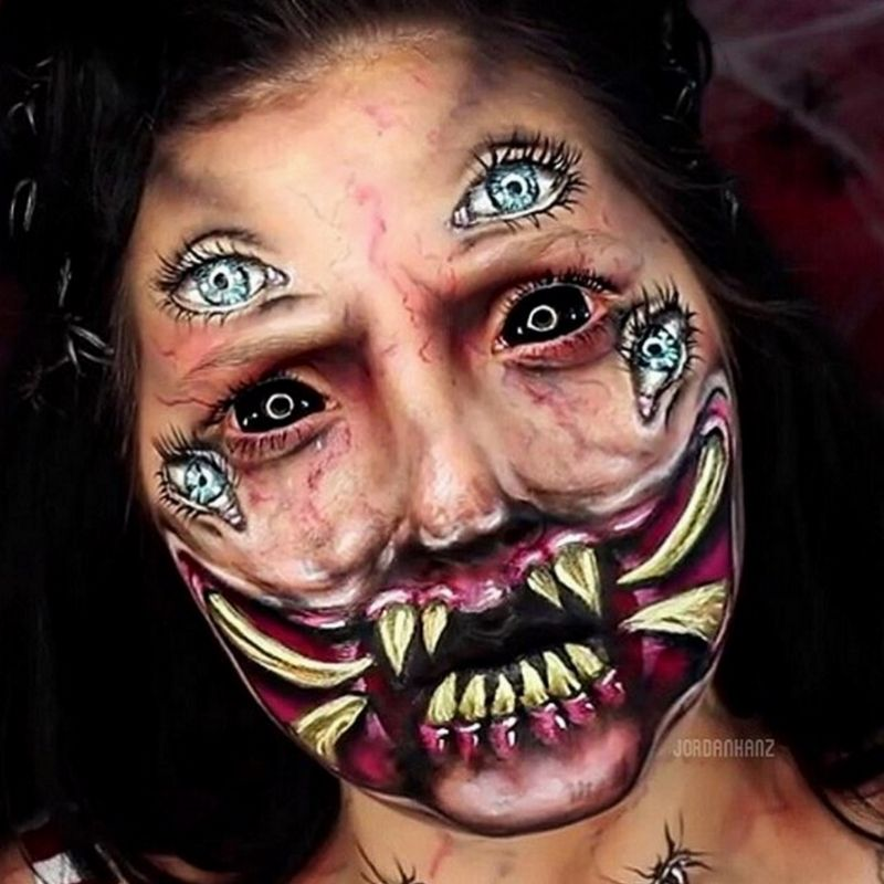 With a flair for special effects makeup, Jordan Hanz is an out-of ...