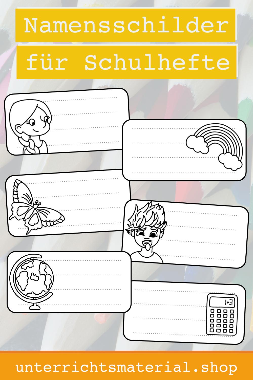 Namensschilder Vorlage Zeigetasche Und Tisch Zum Ausdrucken 10