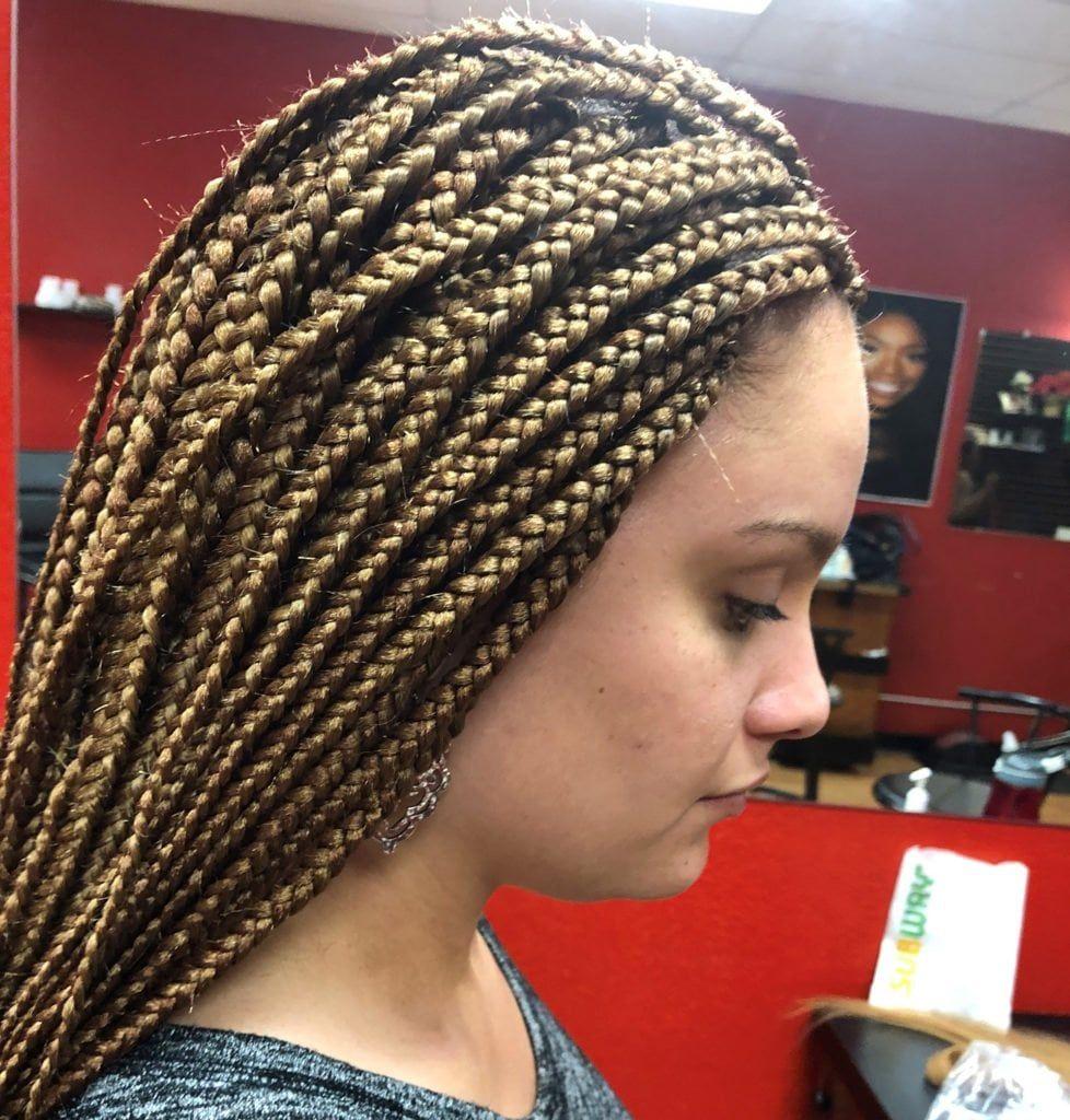 African Hair Braiding   Gaya rambut afrika, Rambut kepang, Gaya ...