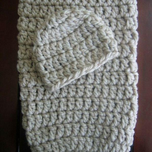 Free Crochet Cocoon & Hat Pattern | Cosas