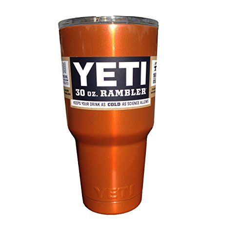 UT #Longhorns Burnt Orange #YETI Custom Powder Coat | jerome