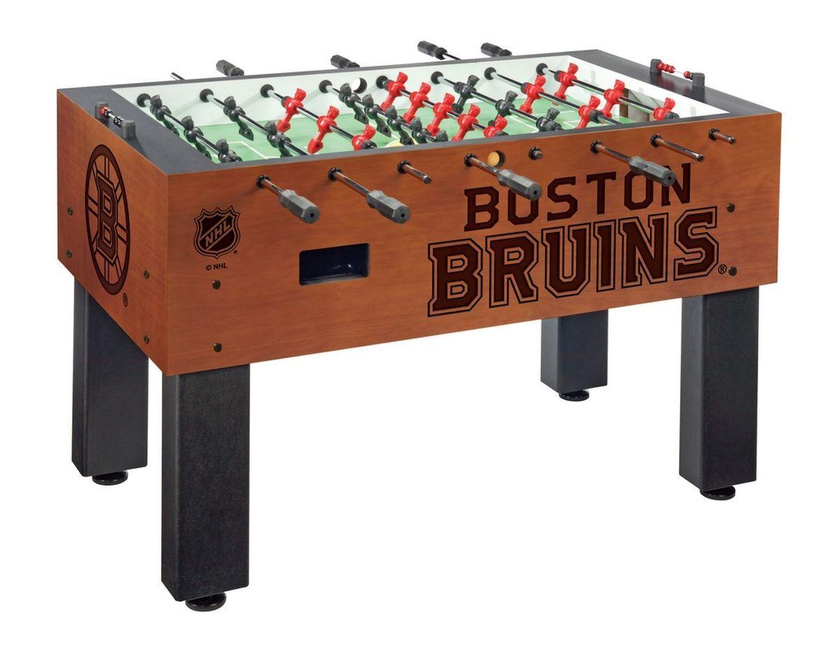 Boston Bruins Chardonnay Foosball Table from ManCaveGiant