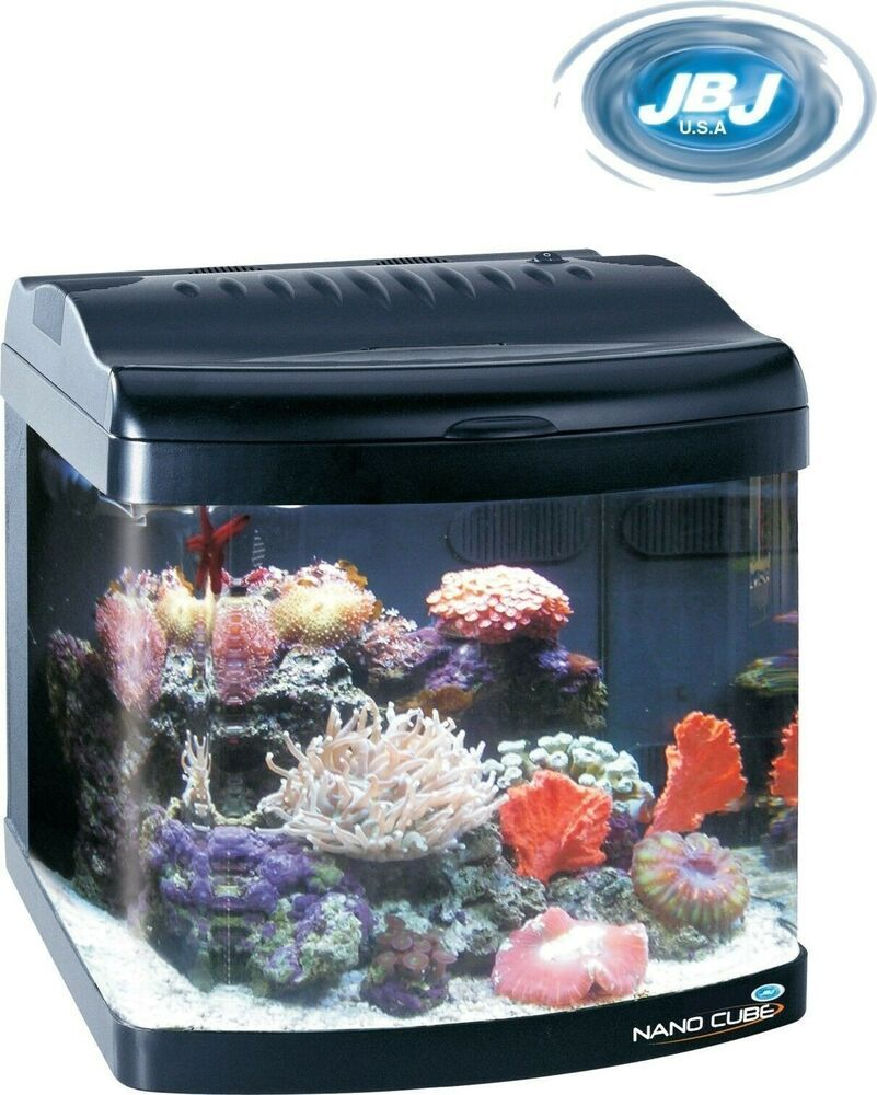 Jbj Nano Cube 12 Gallon Standard Deluxe Aquarium Fish Tank Nanocube Aquarium Aquarium Fish Tank Fish Tank