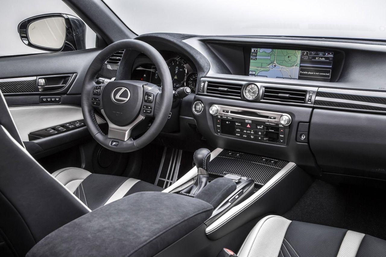 Car Interiors 2016 Lexus Gs F