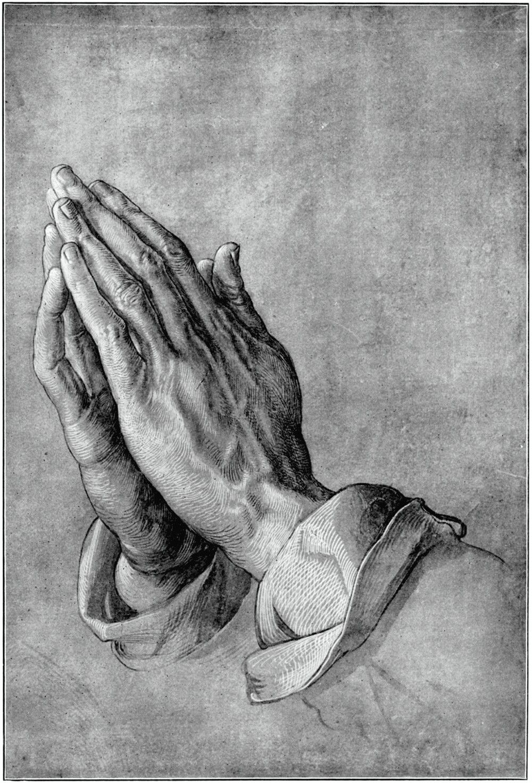 fine art giclee print poster various sizes Praying Hands Durer