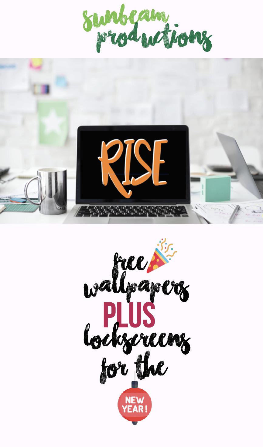 Free New Year 2018 Wallpaper Lockscreen Wallpapers Lockscreens Aesthetic Tumblr Motivational Quotes Quote Rise Selena Gomez