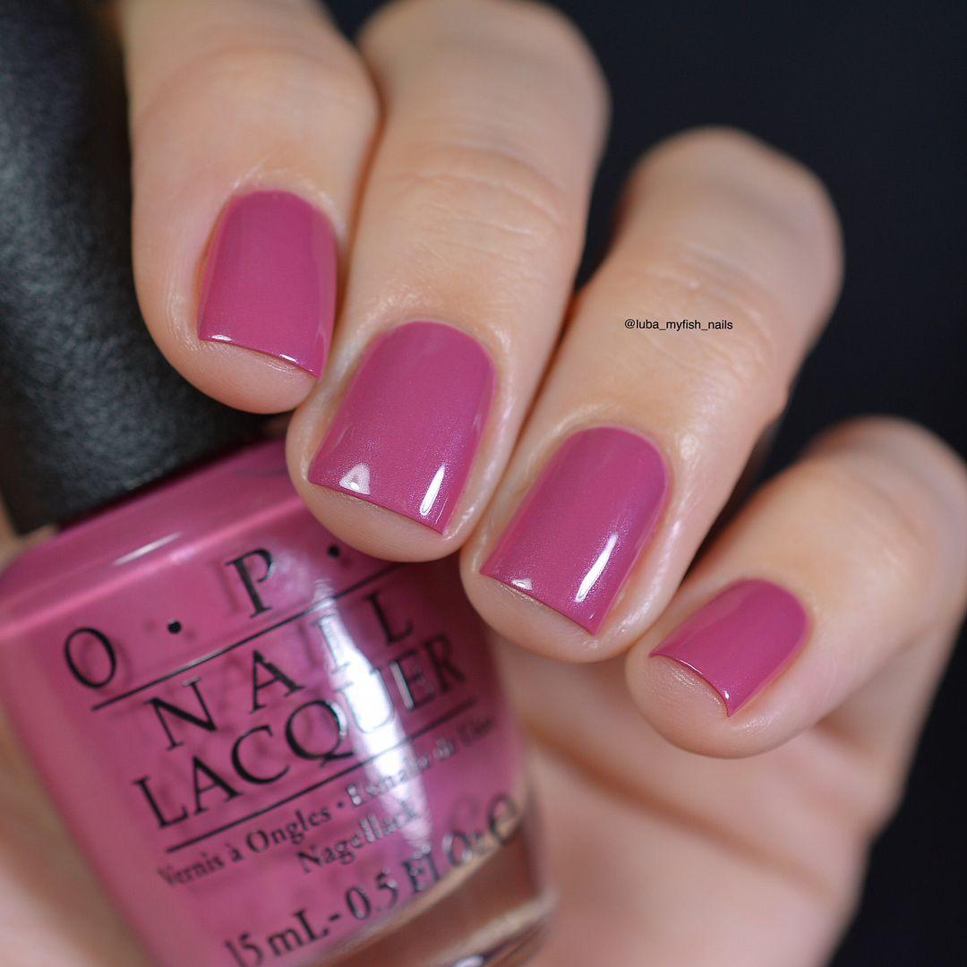 opi Just Lanai-ing Around, припыленный розовато-лиловый оттенок с ...