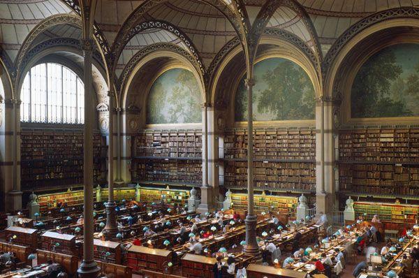 Henri Labrouste-Architect Bibliotheque Nationale