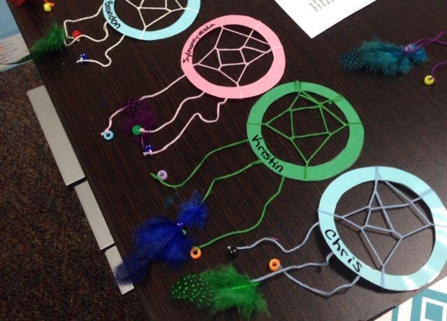 Dream Catcher Door Decs Door Decs Ra Ideas Crafts