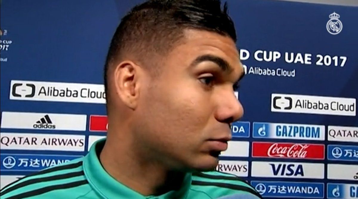 Casemiro Realmadrid Real Madrid Qatar Airways Europe