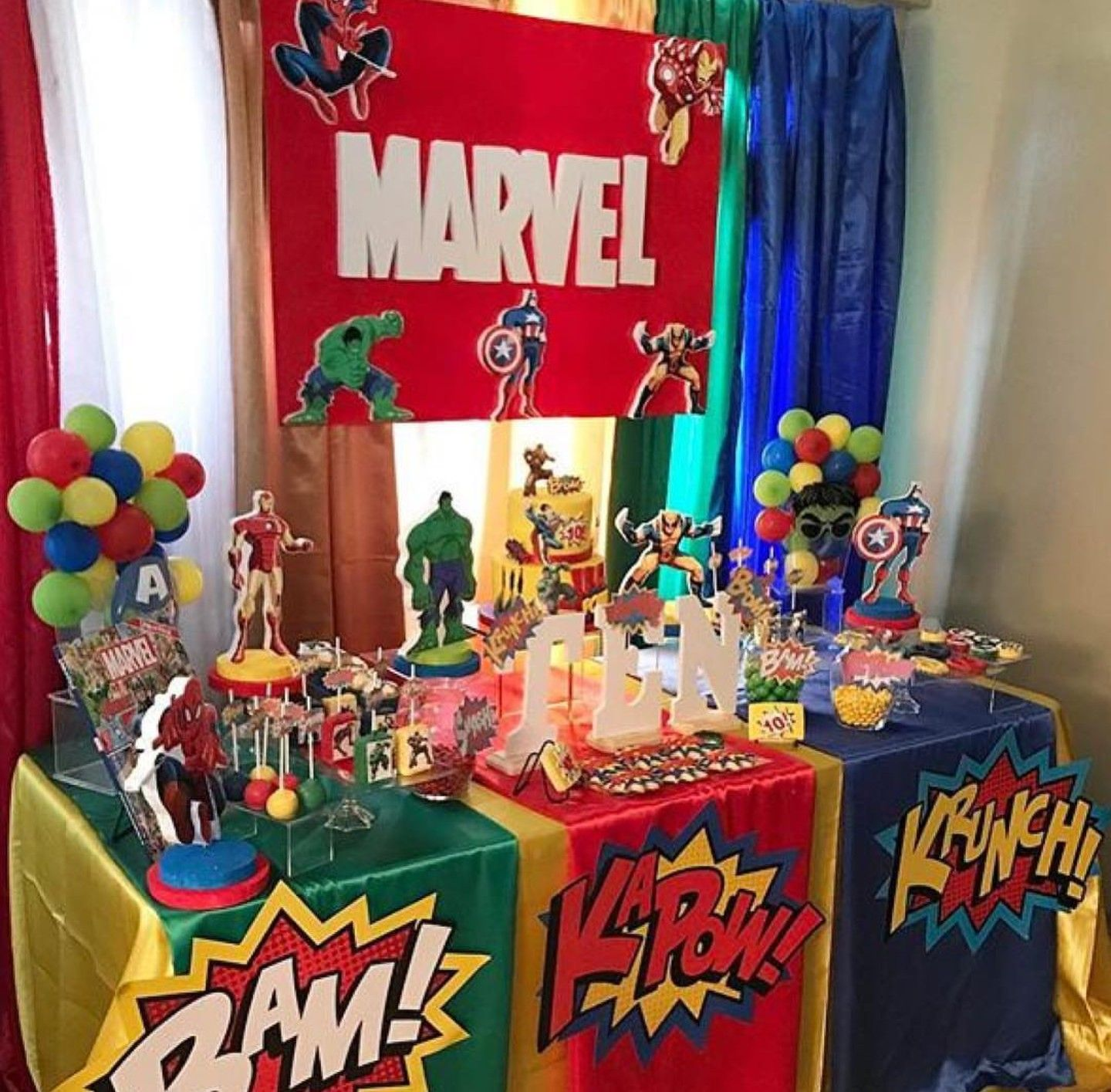 Pin By Felicia S Event Design And Pla On Superhero Theme Party