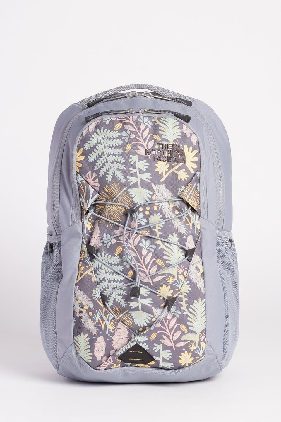 d22e560db The North Face Womens Jester Backpack - Mid Grey Woodland Floral ...