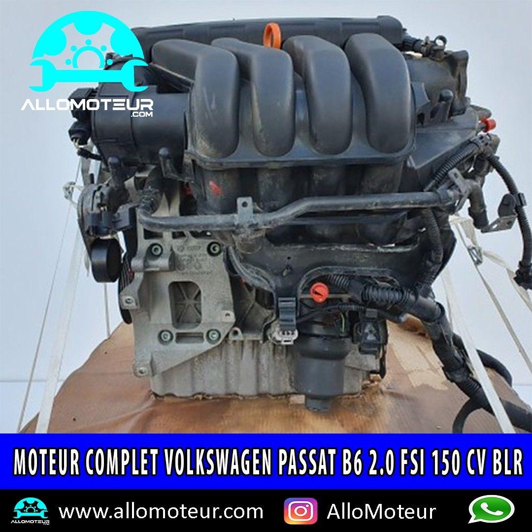 Moteur Complet Volkswagen Passat B6 2 0 Fsi 150 Cv Blrv Boite De Vitesse Volkswagen Moteur