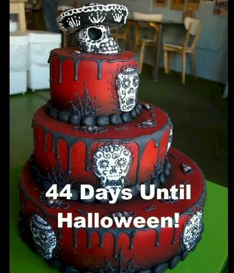 Day of the dead cake. Perfect for Halloween