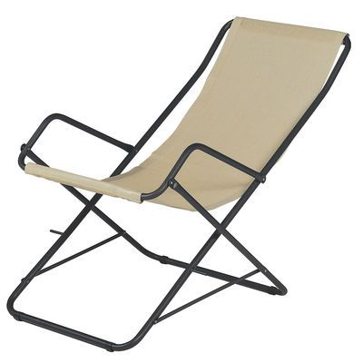 Bahama Collapsible Emu Lounger Short List Deck Chairs