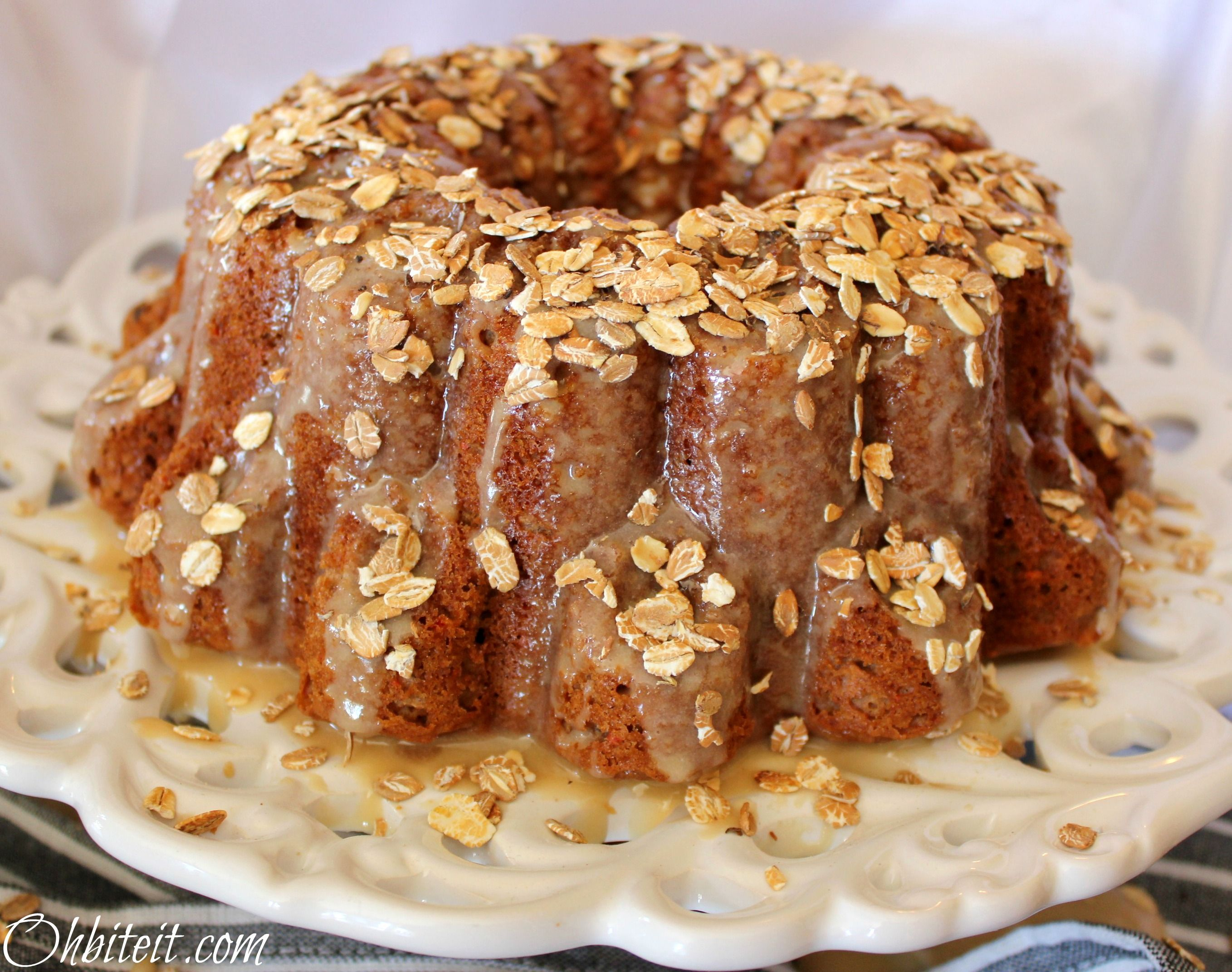 Want some?  Oatmeal cake
