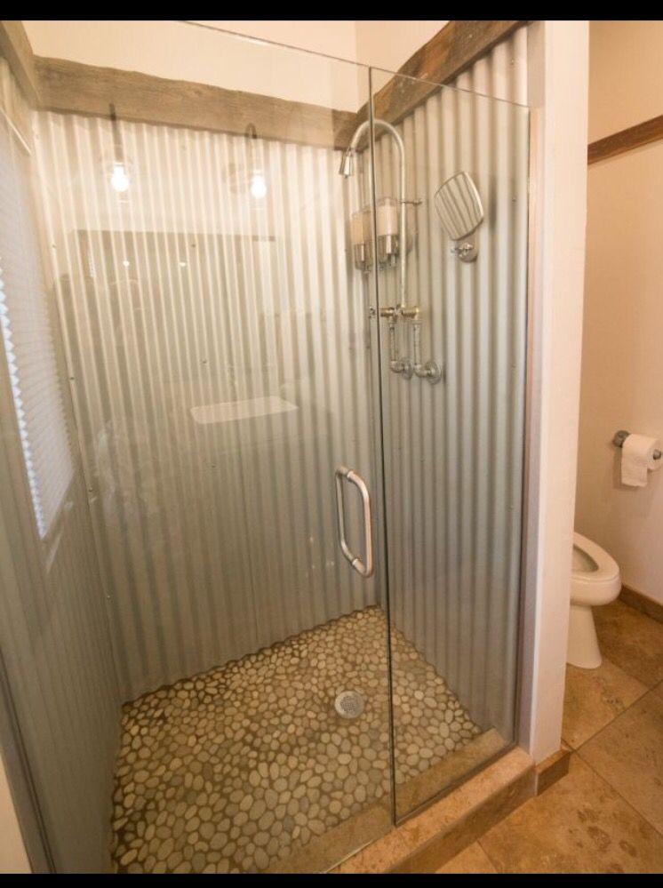 Galvanized Shower Galvanized Shower Garage Bathroom Galvanized Decor