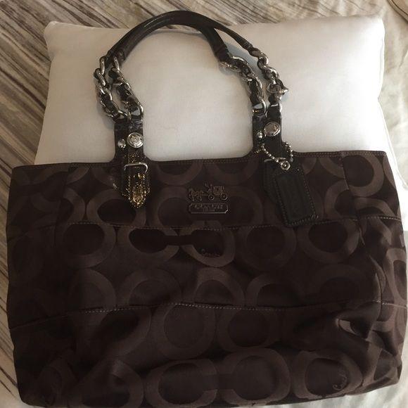6ba474e67d03 Coach Purse Dark brown Coach purse in good condition Coach Bags Shoulder  Bags