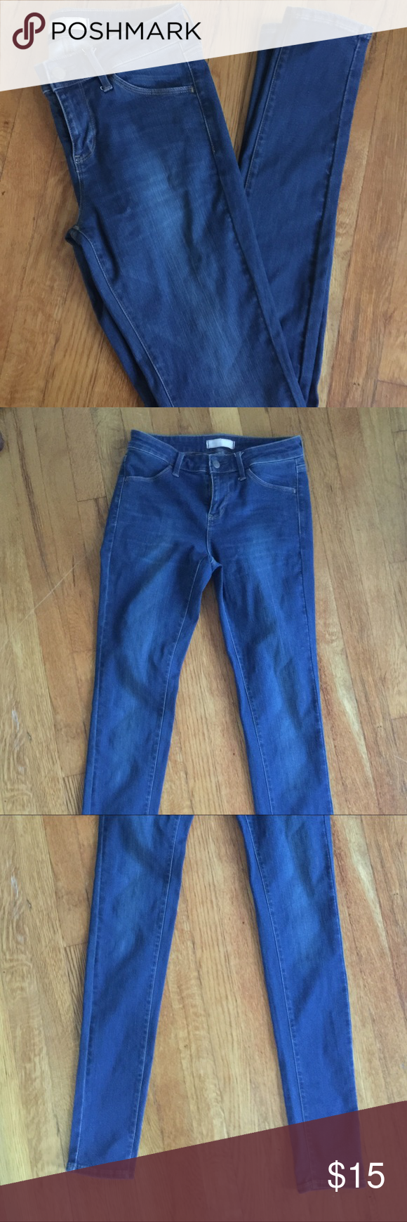 NWOT uniqlo skinny jeans Perfect condition dark wash skinny jeans from Uniqlo. Great for your fall wardrobe💗 Uniqlo Jeans Skinny