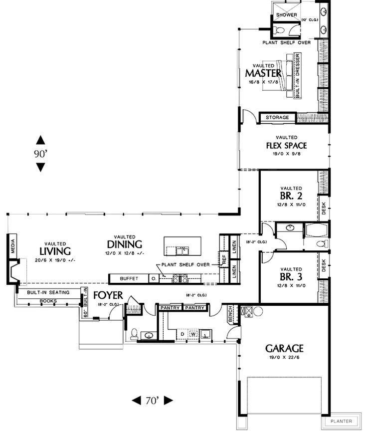 Ed6299ef07919e3241a13b9ee6fce633 One Floor House Plans L Shaped House Plans Jpg 736 874 L Shaped House Plans House Plans Australia L Shaped House