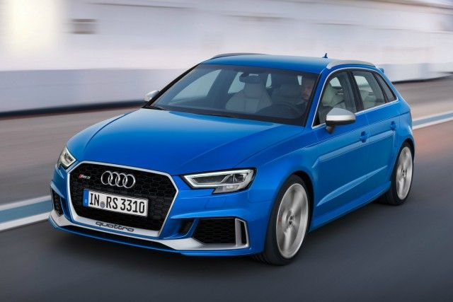 Updated Audi Rs 3 Hot Hatch Confirmed Adds Extra 33bhp Car Keys