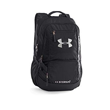 Under Armour Storm Hustle II Backpack, Black/Black, One Size
