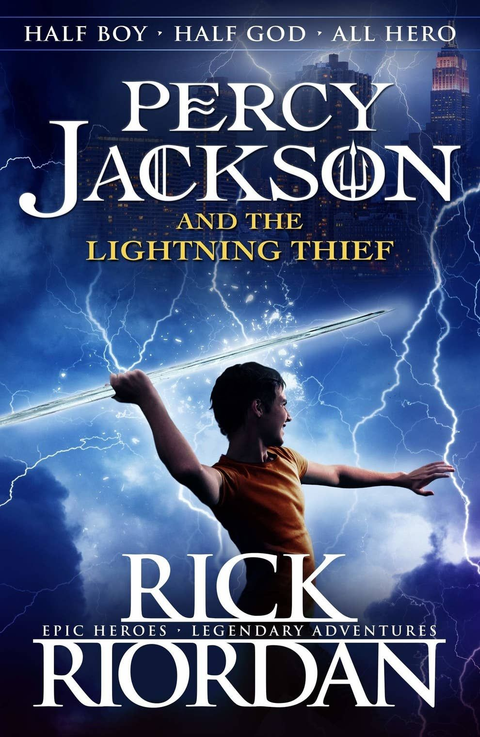 17 Fantastic Books To Help Fill The Harry Potter Void In Your Life The Lightning Thief Book The Lightning Thief Percy Jackson Books