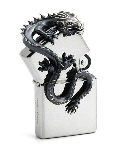 zippo, dragon, limited, limitada, abierto, open, catalogo, aleman, mechero, encendedor