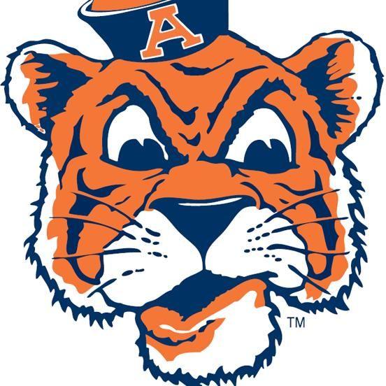 old school aubie logo auburn university pinterest rh pinterest com Auburn War Eagle Logo Decals Auburn Tigers HD Wallpaper