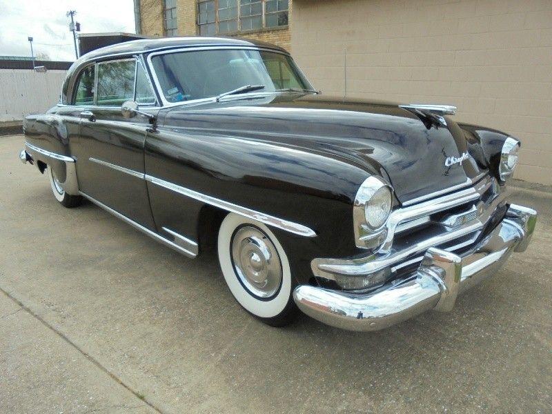 1954 Chrysler Windsor Newport Deluxe/ Original Survivor | Black 1954 ...