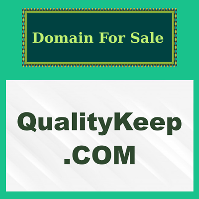Find Many Great New Used Options And Get The Best Deals For Qualitykeep Com Nr Domain Name Auction Product Quality Control Namesi Domain Auction Names
