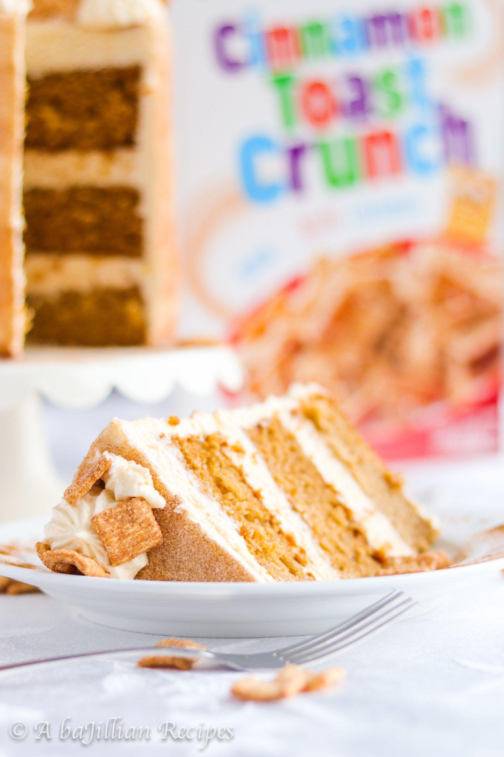 Cinnamon toast crunch cake a bajillian recipes crunch