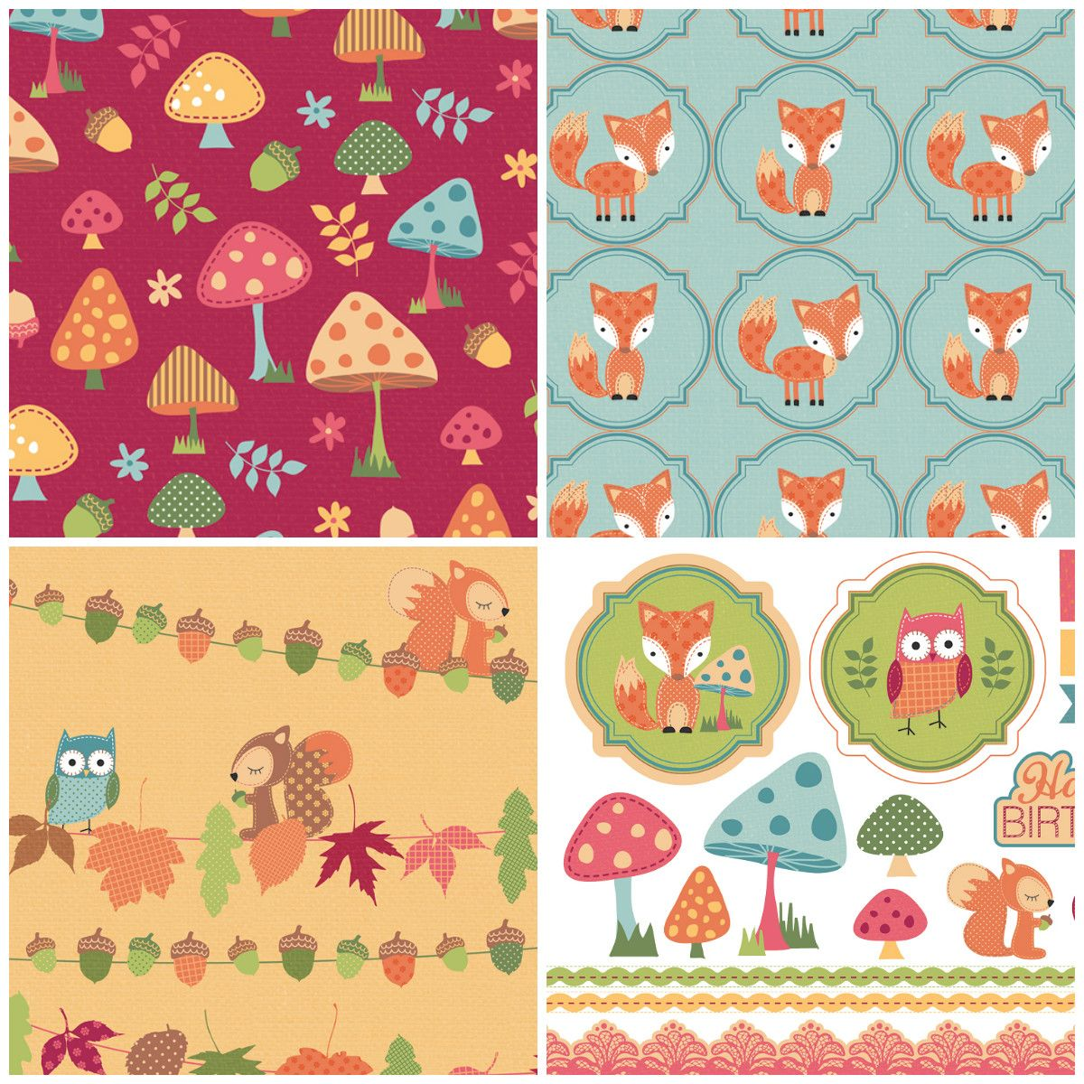 Get crafting with these autumn friends free printable papers to get crafting with these autumn friends free printable papers to download jeuxipadfo Choice Image
