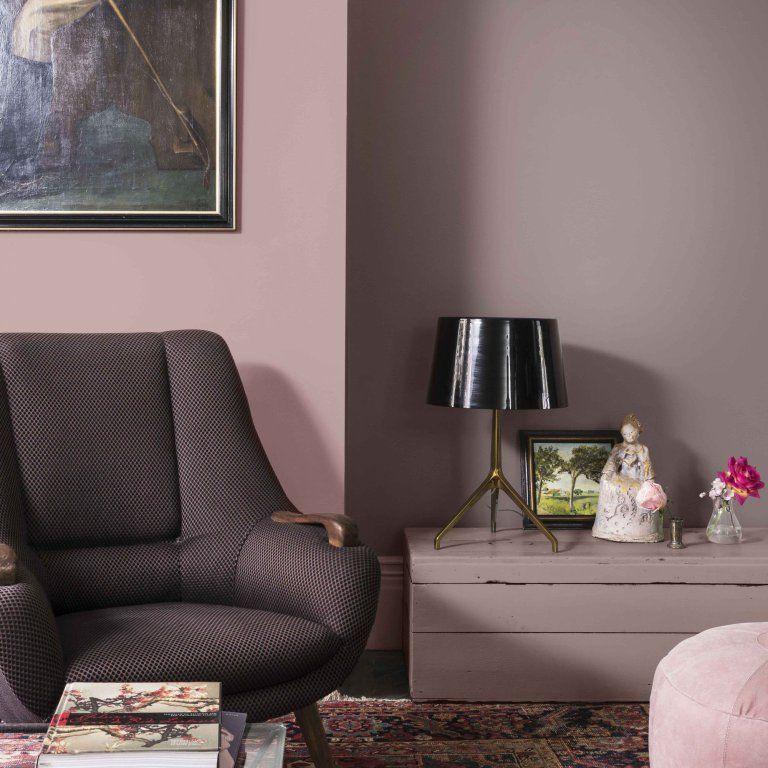 tendance peinture 2018 le brun cachemire la couleur. Black Bedroom Furniture Sets. Home Design Ideas