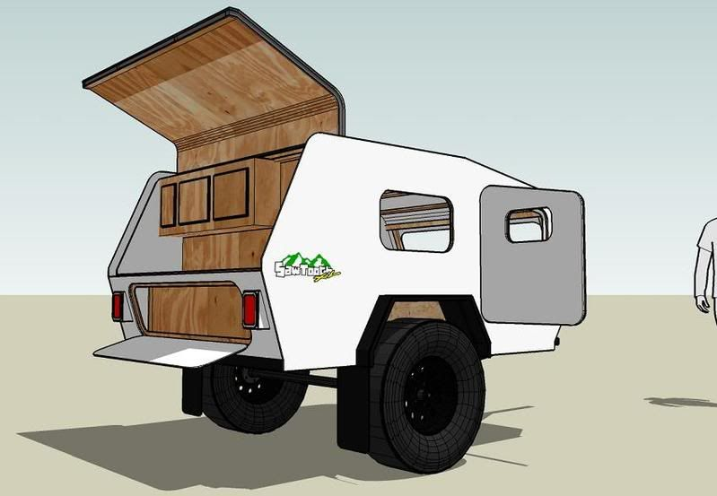 Popular Gallery For Gt Off Road Teardrop Trailer Kit