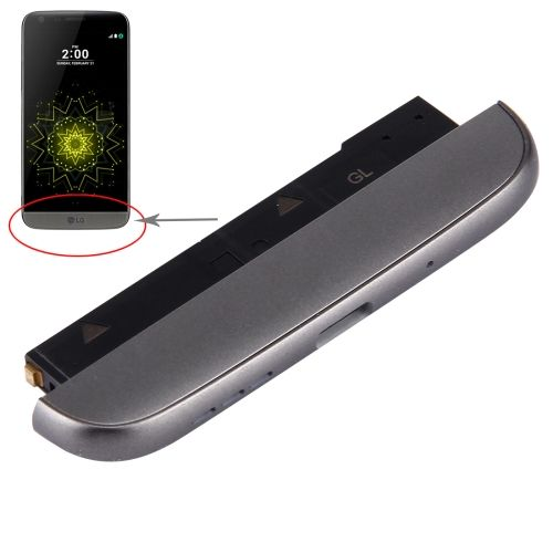 [$13.12] iPartsBuy for LG G5 / F700 / H868 / H860N Bottom (Charging Dock + Microphone + Speaker Ringer Buzzer) Module(Grey)
