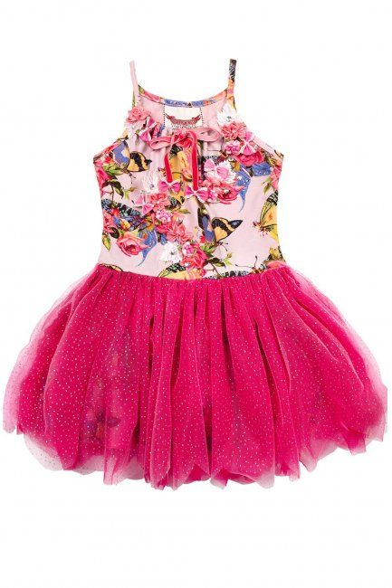 Butterflies and Roses Scalloped Edge Tutu Dress by Paper Wings | Sew ...