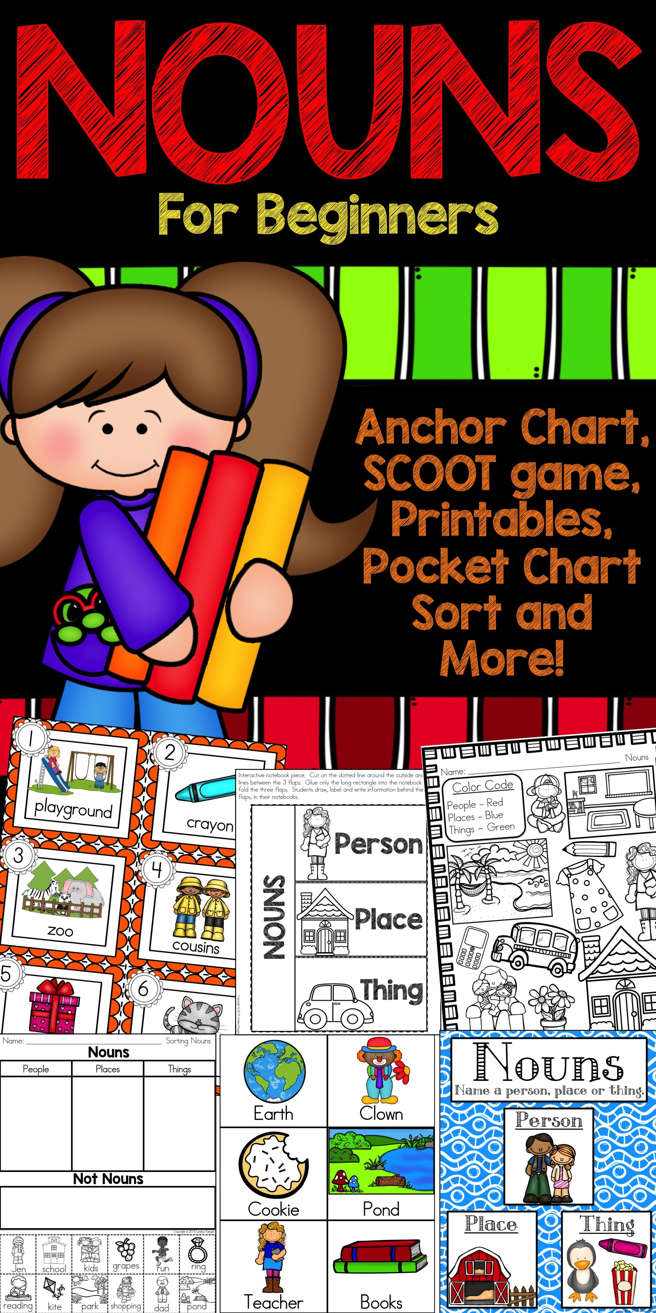 Nouns Worksheets And Activities