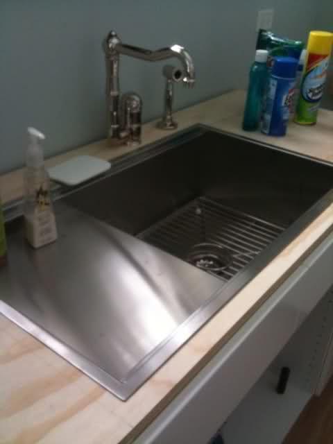 Prolific 33 L X 17 3 4 W X 11 Undermount Single Bowl Kitchen Sink With Accessories Single Basin Kitchen Sink Undermount Kitchen Sinks Single Bowl Kitchen Sink