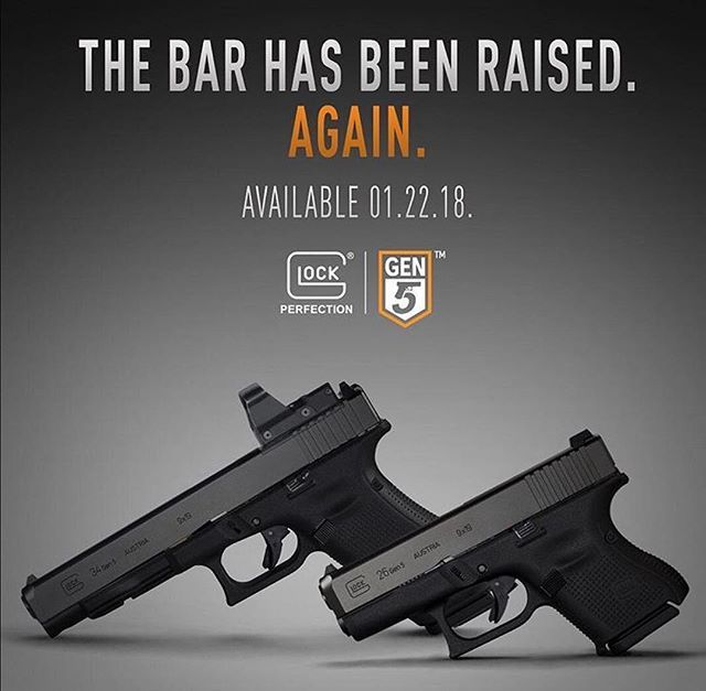 Agencies will now have have a family of Gen 5 @glockinc