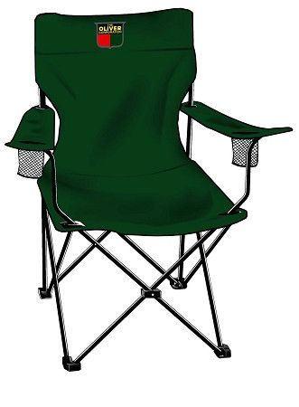Oliver Embroidered Adult Camp Chair Camping Chairs Eames